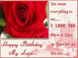 Birthday Cards for A Lover Birthday Wishes for Boyfriend Romantic Lovely Message