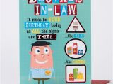 Birthday Cards for Brother In Law Free Birthday Card Brother In Law Birthday Signs Only 99p