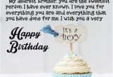 Birthday Cards for Brother with Name Sweetest Person Birthday Wishes for Brother with Name