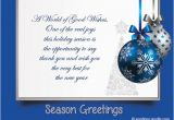 Birthday Cards for Business associates Christmas Messages for Business Wordings and Messages