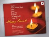 Birthday Cards for Business associates Diwali Visiting Cards Entown Posters