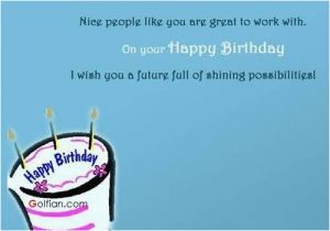 Birthday Cards for Business associates Famous Coworker Birthday Wishes Nice People Like You are