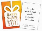 Birthday Cards for Customers Birthday Card Insert Sample Wilson Printing Usa