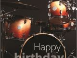 Birthday Cards for Drummers Birthday Card Red Drum Kit Musicroom Com