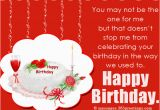 Birthday Cards for Ex Boyfriend Birthday Wishes for Ex Boyfriend 365greetings Com