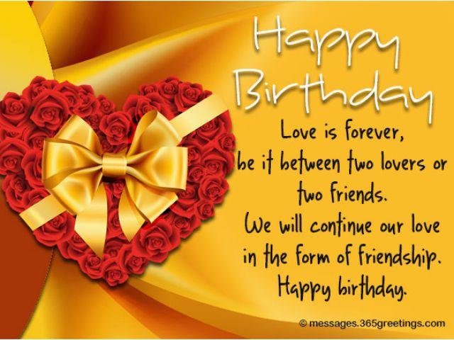 95 Birthday Cards For Ex Boyfriend Beautiful