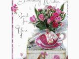 Birthday Cards for Females Birthday Card Female Lady Happy Birthday Roses