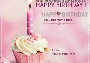 Birthday Cards for Friends with Name Birthday Card Maker Online
