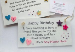 Birthday Cards for Friends with Name Free Birthday Cards with Name and Photo