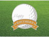 Birthday Cards for Golfers Golf Ball Birthday Card Golf Birthday Cards Posty Cards