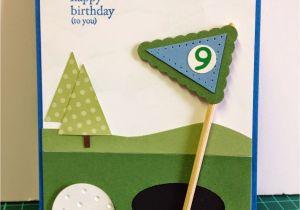 Birthday Cards For Golfers Tina 39 S Creative Studio Golf Themed Card