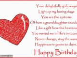 Birthday Cards for Granddaughters Birthday Poems for Granddaughter Wishesmessages Com