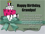 Birthday Cards for Grandpa From Granddaughter Birthday Wishes for Grandparents 365greetings Com