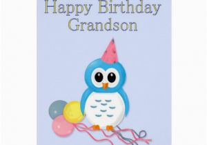 Birthday Cards for Grandson to Print Grandson Birthday Greeting Card Zazzle