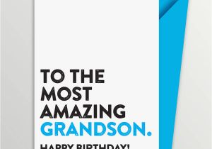 Birthday Cards for Grandson to Print Most Amazing Grandson Birthday Card by A is for Alphabet