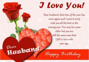 Birthday Cards For Husband On Facebook Romantic Wishes Messages
