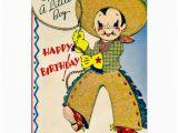 Birthday Cards for Little Boys Little Cowboy Retro Little Boy Happy Birthday Cards Zazzle