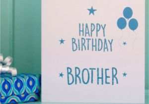 Birthday Cards For Little Brother Card Brov Bro Big