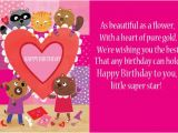 Birthday Cards for Little Girls Beautiful Greetings Birthday Wishes for Little Girl