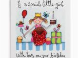 Birthday Cards for Little Girls Special Little Girl Handmade Birthday Card 2 60 A