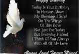 Birthday Cards for Mom In Heaven Happy Birthday In Heaven Wishes Quotes Images
