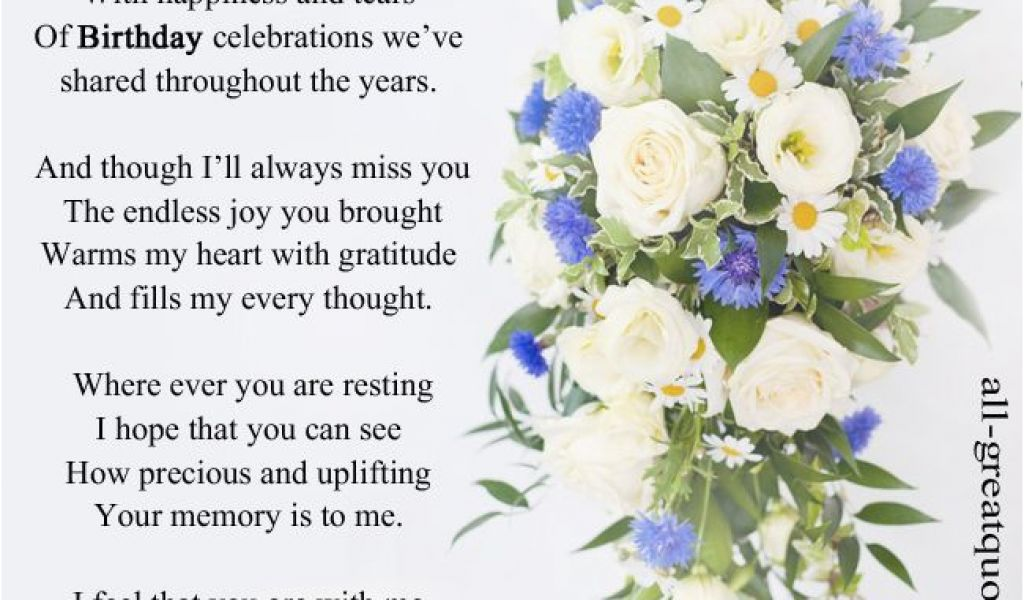 Birthday Cards For Mom In Heaven Heavenly Birthday Wishes On