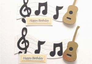 Birthday Cards For Music Lovers 2 Large Lover Guitar Note 39 Happy Die
