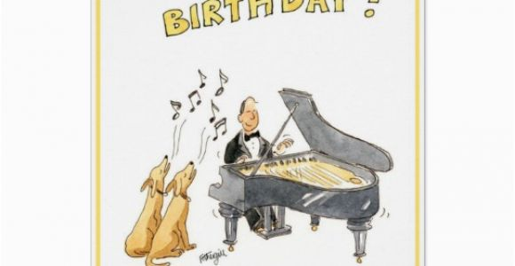 Birthday Cards for Music Lovers Happy Birthday Greeting Card for Music Lovers Zazzle Com