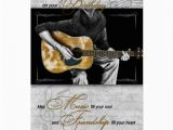 Birthday Cards for Music Lovers Happy Birthday Music Lover Classic Guitarist Card Zazzle