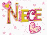 Birthday Cards for Nieces Special Niece Happy Birthday Greeting Card Cards