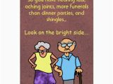 Birthday Cards for Old People Funny Cartoon Seniors Discount Old Age Birthday Card