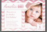 Birthday Cards for One Year Old Baby Girl 1 Yas Dogum Gunu Davetiyesi Modelleri Fikirleri Ve ornekleri