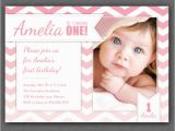 Birthday Cards for One Year Old Baby Girl 1 Yas Dogum Gunu Davetiyesi Modelleri Fikirleri Ve ornekleri