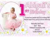 Birthday Cards for One Year Old Baby Girl 1st Birthday Invitations Ideas for Girl Bagvania Free