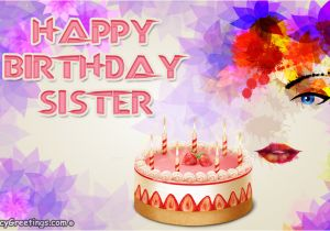 Birthday Cards For Sister Free Download Advance Wishes My Ecard Greeting