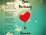 Birthday Cards for someone In Heaven 94 Best Images About Heavenly Birthday Wishes On Pinterest