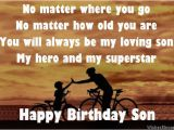 Birthday Cards for son From Mom and Dad Birthday Poems for son Page 2 Wishesmessages Com