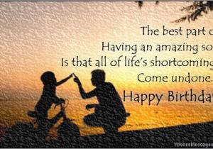 Birthday Cards For Son From Mom And Dad Wishes Quotes Messages