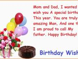 Birthday Cards for son From Mom and Dad Happy Birthday Wishes for Parents Happybdwishes