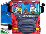 Birthday Cards for Truck Drivers Cards Truck Driver 39 S Birthday On Behance
