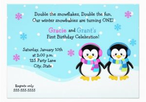 Birthday Cards For Twins Boy And Girl Twins First Birthday