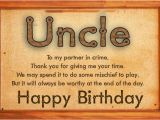 Birthday Cards for Uncle From Niece Birthday Wishes for Uncle Funny Birthday Messages Happy