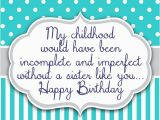 Birthday Cards for Younger Sister Birthday Wishes for Sister Quotes and Messages
