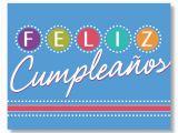 Birthday Cards In Spanish Feliz Cumpleanos Birthday Lights Spanish Birthday Card