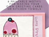 Birthday Cards Make Your Own for Free Farbstoff Make Your Own Appliqued Greeting Cards