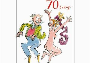 Birthday Cards Next Day Delivery Uk 70th Unisex Birthday Card Quentin Blake Same Day