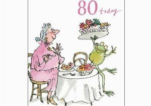 Birthday Cards Next Day Delivery Uk Birthday Feast 80th Birthday Card Quentin Blake Same