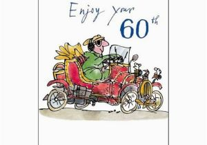 Birthday Cards Next Day Delivery Uk Male Birthday Card Enjoy Your 60th Quentin Blake Same