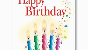 Birthday Cards order Online Candles and Confetti Birthday Card