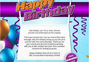 Birthday Cards Sent by Email 44 Free Birthday Cards Free Premium Templates